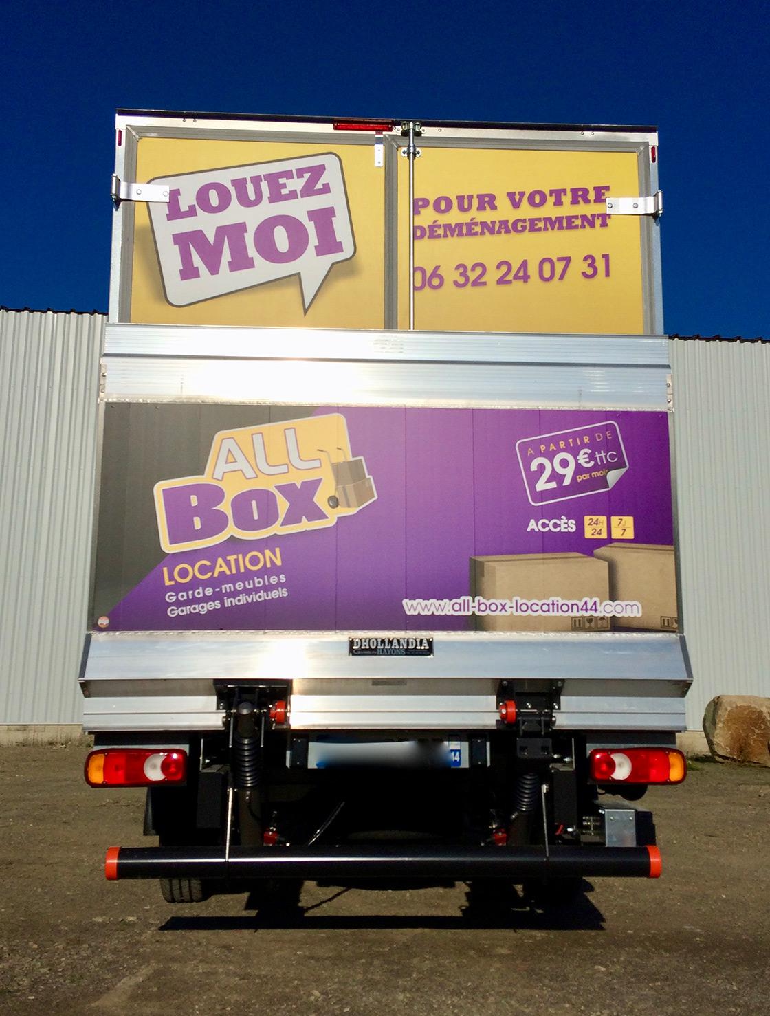 location de camion 20m cube nantes pornic particulier et professionnel. Black Bedroom Furniture Sets. Home Design Ideas